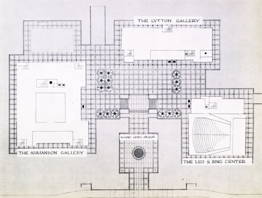 Figure 3: LACMA's original plan. Google Images.