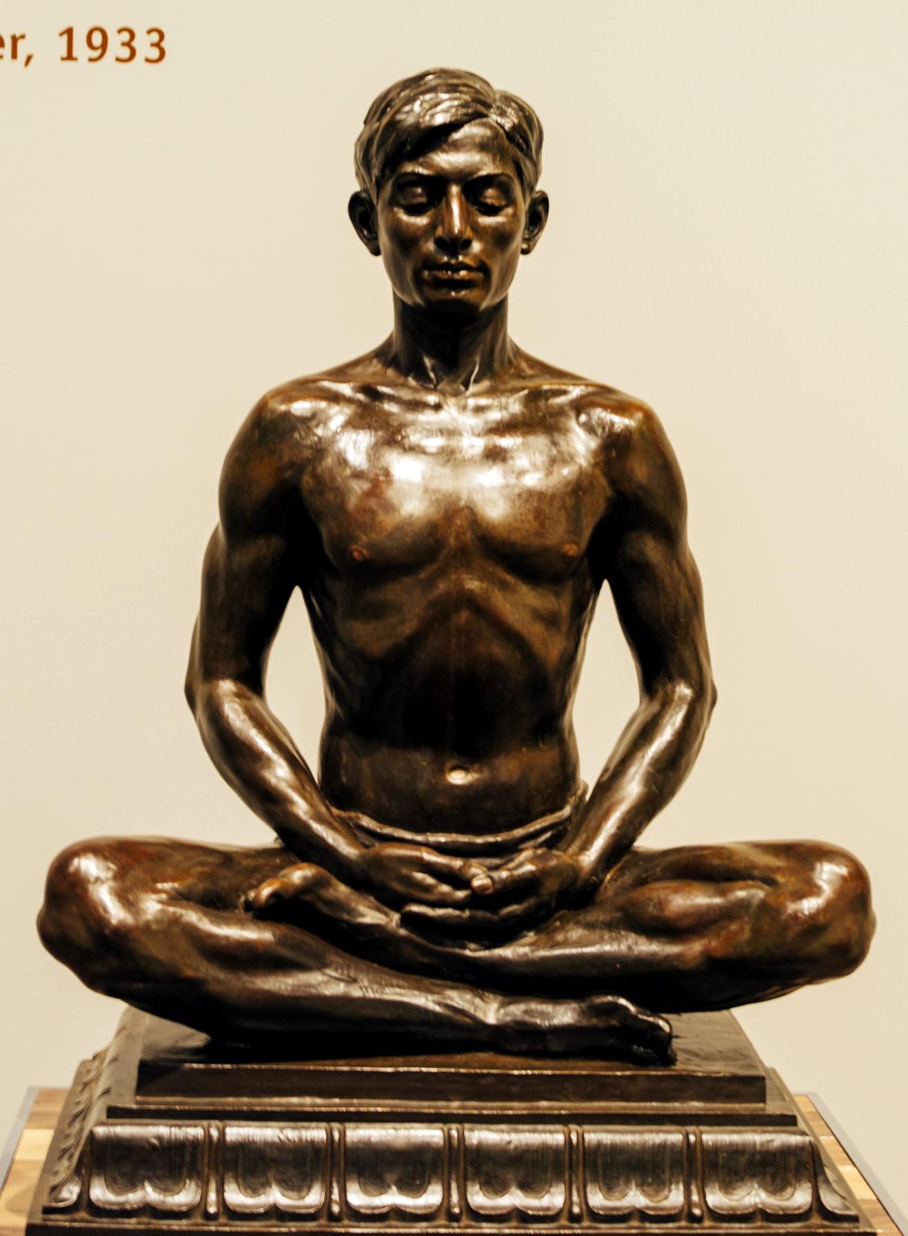 "Figure 2. Malvina Hoffman'ssculpture,""Kashmiri Man."" Image courtesy of David Kasnic,TheNew York Times."