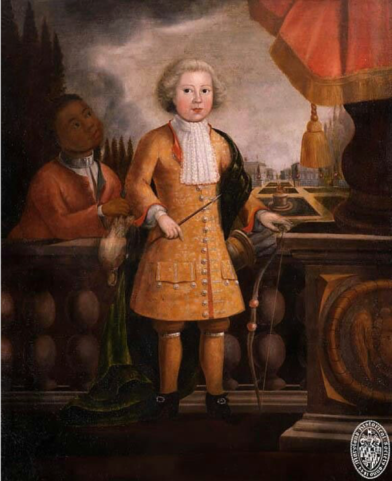 Figure 1: Justus Engelhardt Kühn,Portrait of Henry Darnall III (1702-1788?), ca. 1710. Oil on canvas, 44 x 53 7/8 in.Baltimore, MD. Maryland Historical Society, Bequest of Miss Ellen C. Daingerfield, Acc. no.: 12.1.3.