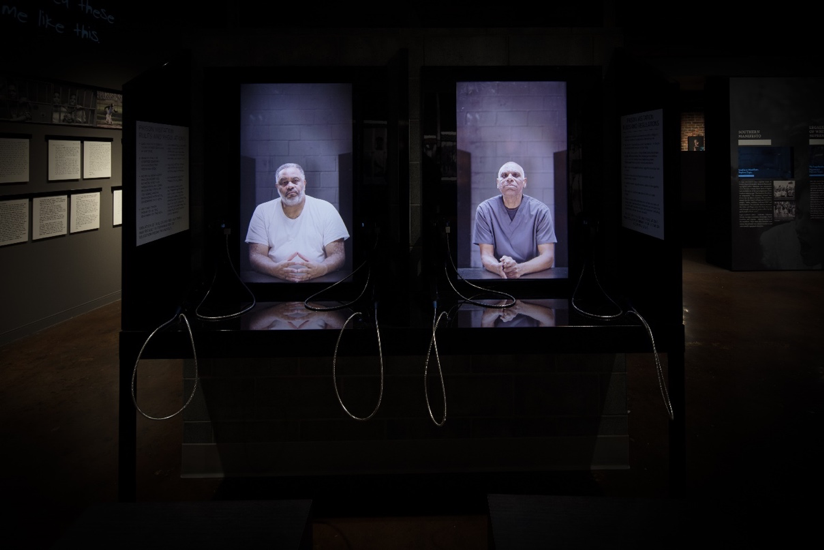Figure 3. Telephones, The Legacy Museum: From Enslavement to Mass Incarceration, photo credit: Equal Justice Initiative/Human Pictures.
