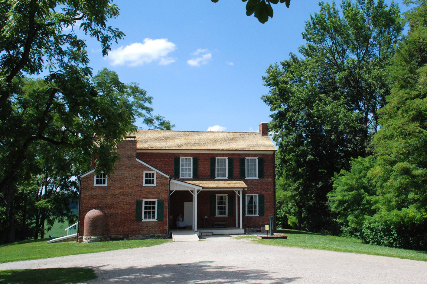 Figure 2: William Conner House at Conner Prairie, one of the sites highlighting diversity in America's religious past. Conner Prairie.