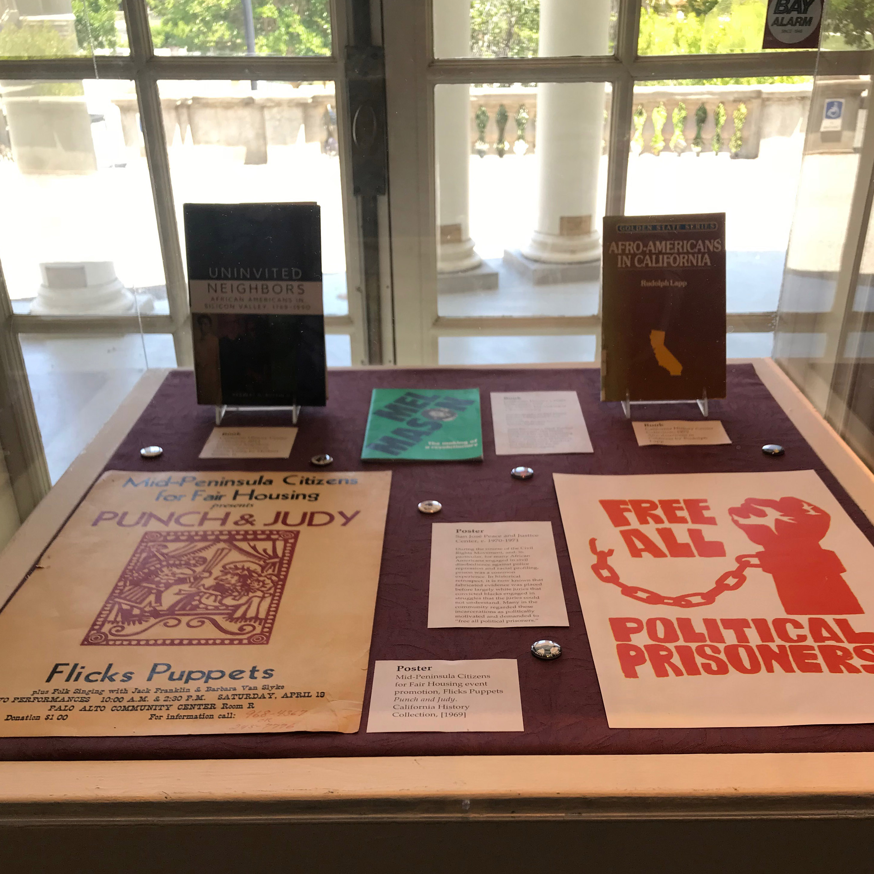 Figure 7.Power & Protest, protest posters and other archival materials.