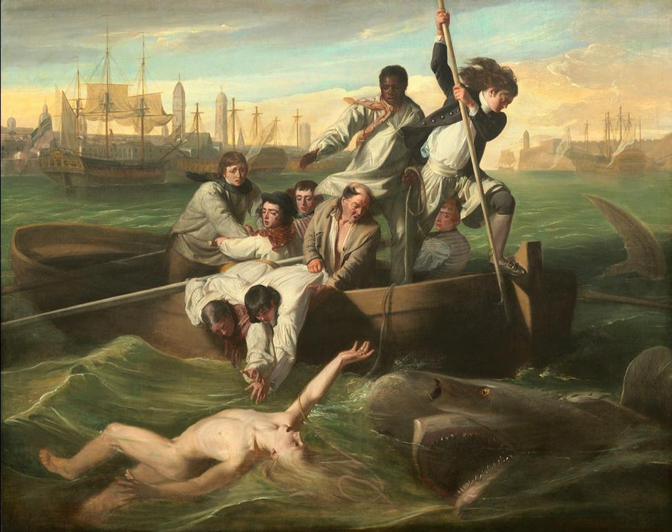 Figure 2: John Singleton Copley,Watsonand the Shark, 1778. Oil on canvas,72 ¼ x 90 3/8 in. Washington, D.C. National Gallery of Art.